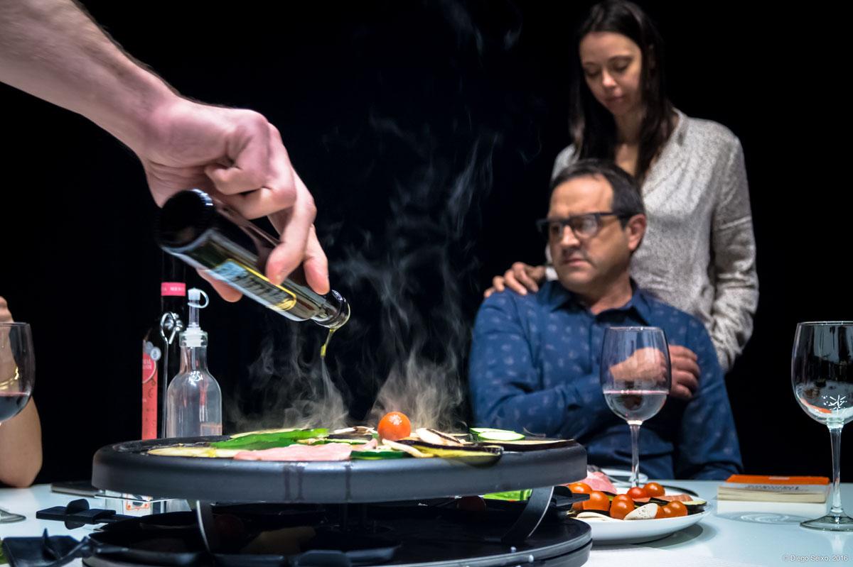 Raclette en Narón