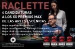 Raclette en los Premios Max