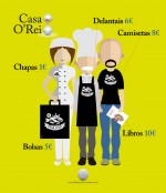 Merchandising de 'Casa O'Rei'