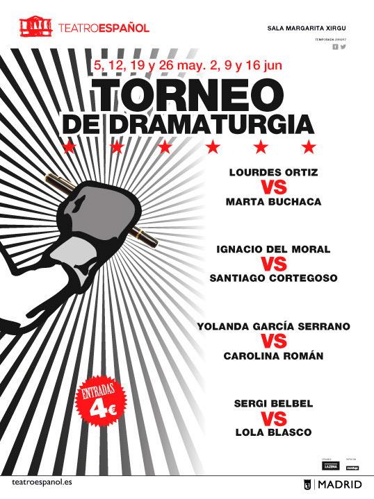 Santiago Cortegoso en el Torneo de Dramaturgia